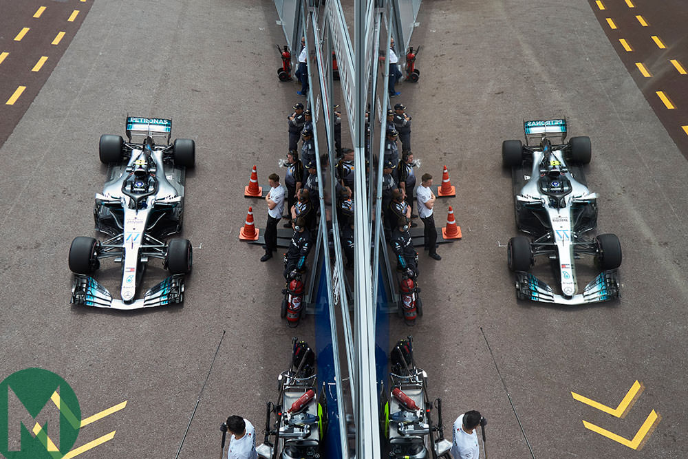 Why Mercedes is slow at Monaco