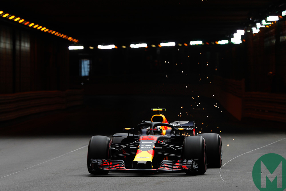 2018 Monaco Grand Prix: Red Bulls fastest in FP1