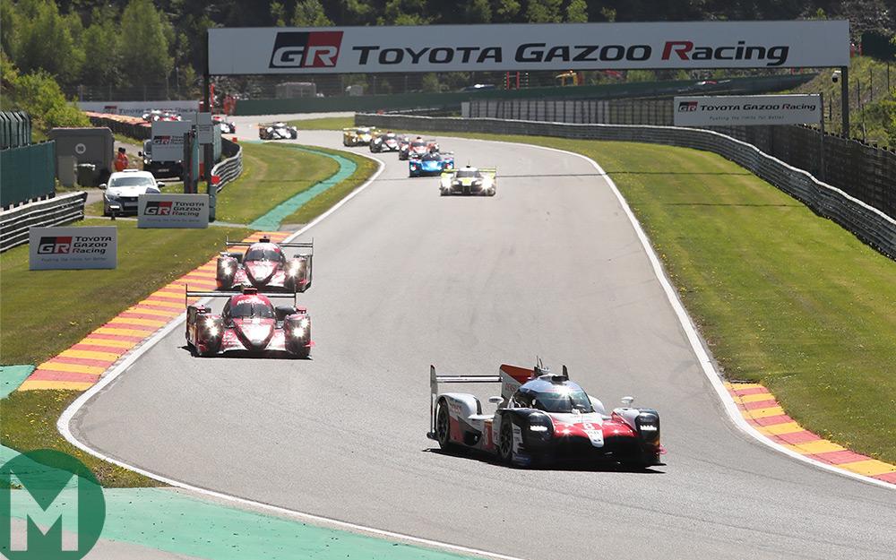 Alonso, Buemi and Nakajima claim Spa 6 Hours win