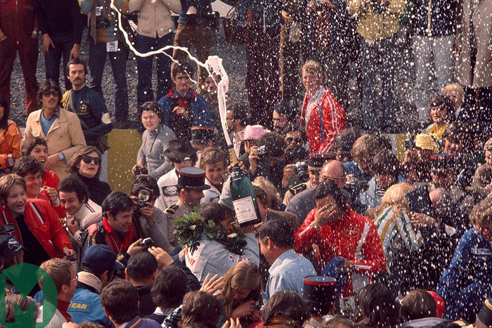 France 1972: Stewart wins, Amon stars
