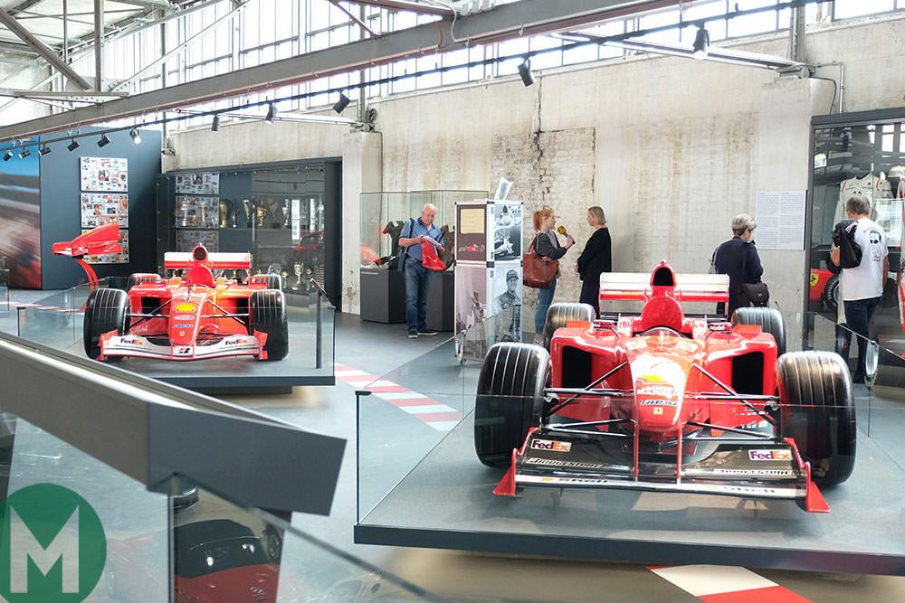 Michael Schumacher exhibition opens
