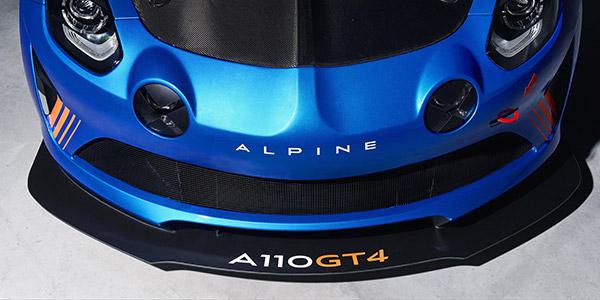 Alpine A110 GT4 unveiled