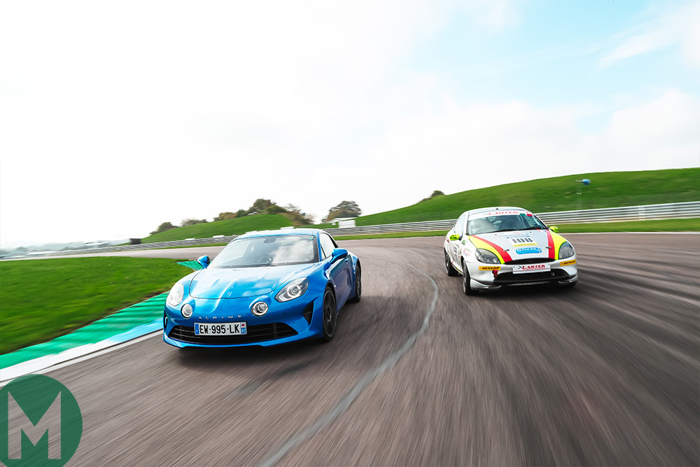A postcard from Motor Sport's first track day