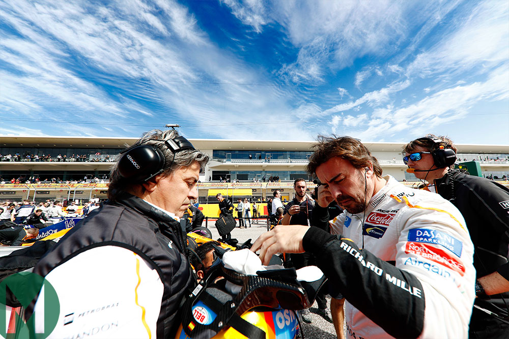 Fernando Alonso will head back to Daytona