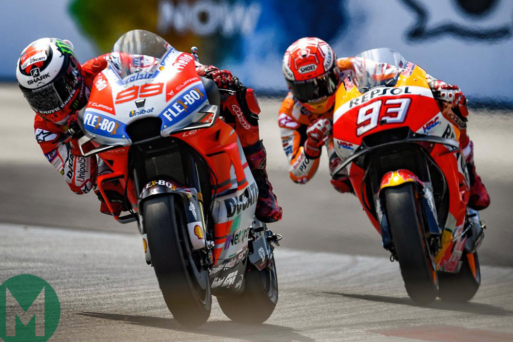 Márquez is the man with no off switch