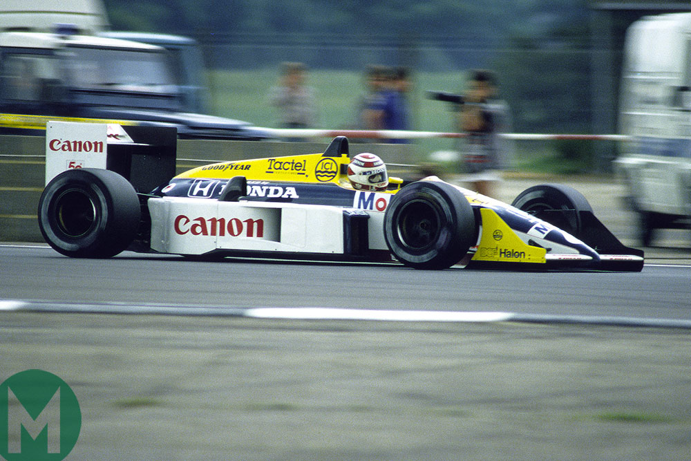 Piquet's Williams FW11 joins Race Retro line-up