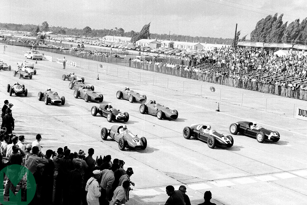 Watch: Jack Brabham becomes world champion
