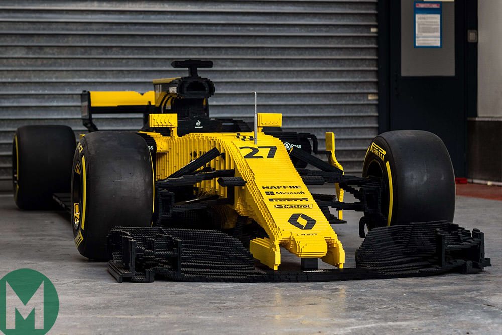 This LEGO Renault RS17 costs nearly £45k