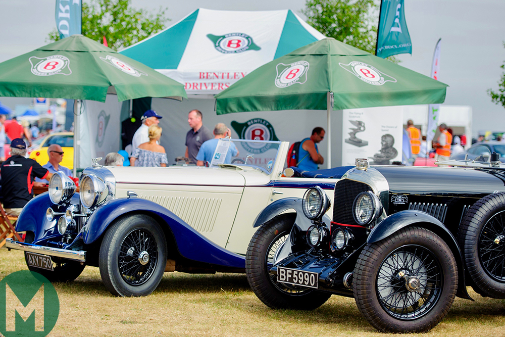 Updated: Bentley centenary leads 2019 Silverstone Classic