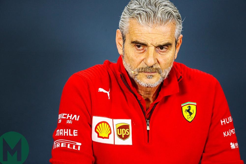Updated: Ferrari replaces F1 team principal