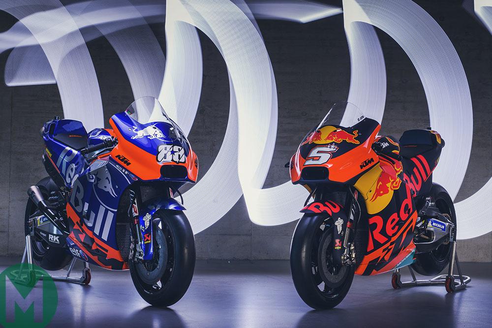 KTM's 2019 MotoGP liveries shown off
