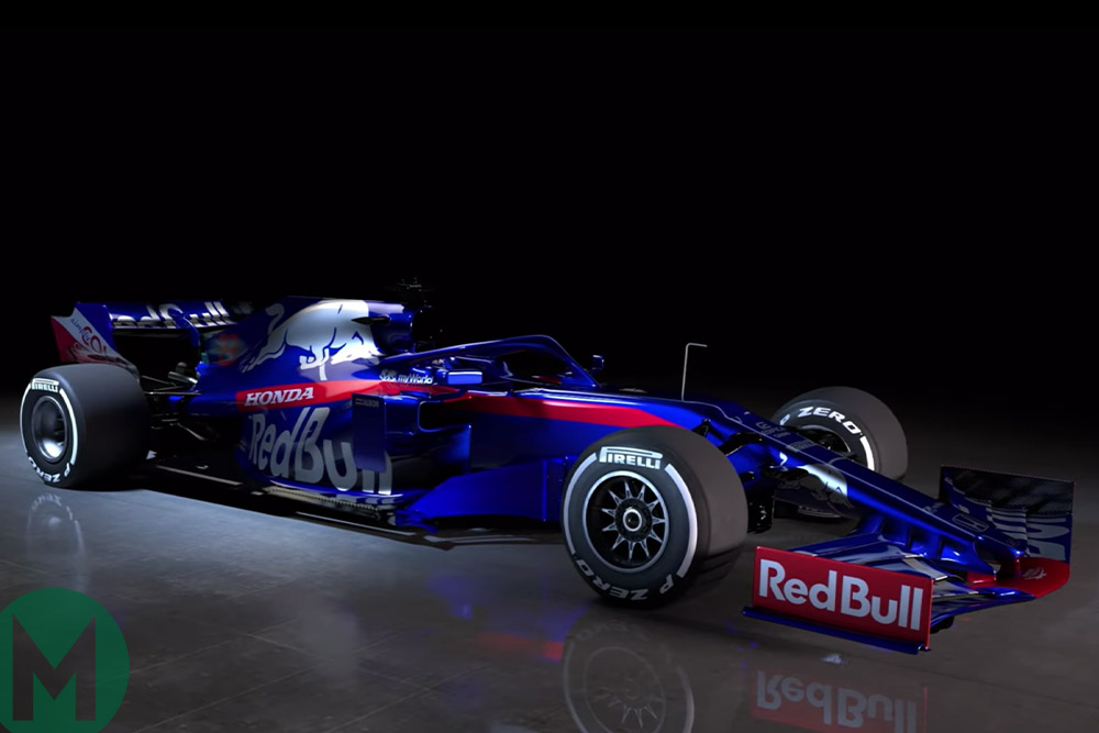Updated: Toro Rosso reveals its 2019 Formula 1 car