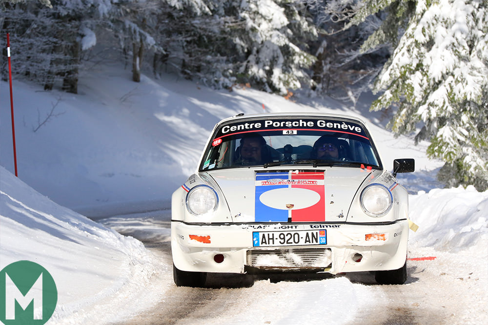 A driver's eye view of the 2019 Monte Carlo historic rally