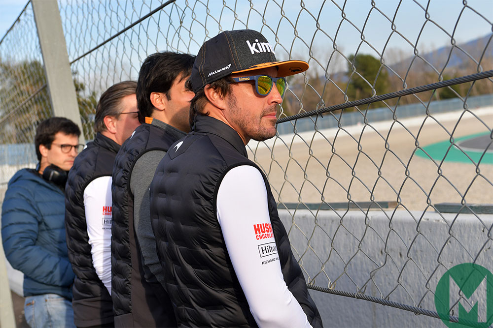 Alonso to support McLaren F1 car development
