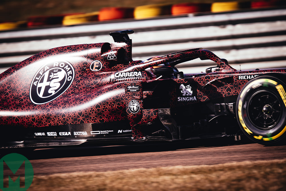 Gallery: Alfa Romeo's 2019 testing livery, updated