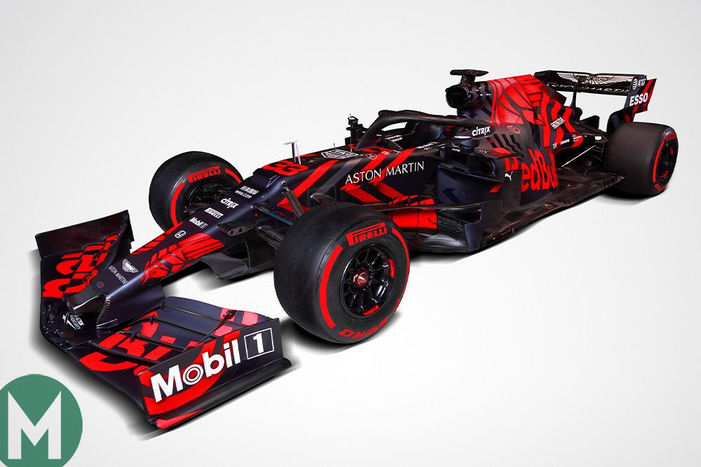 Red Bull RB15 F1 car revealed