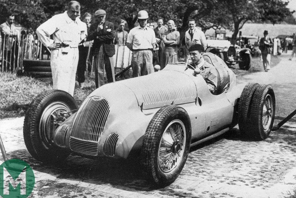 Works 59/50B Bugatti returning to Prescott after 80 years
