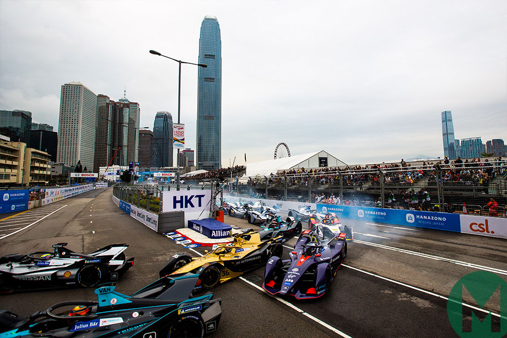 Mortara takes Hong Kong ePrix after Bird's wings clipped