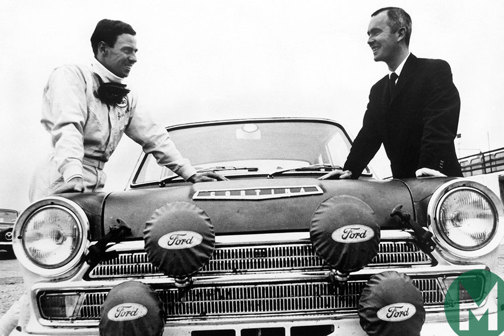 Watch Jim Clark take on the RAC Rally