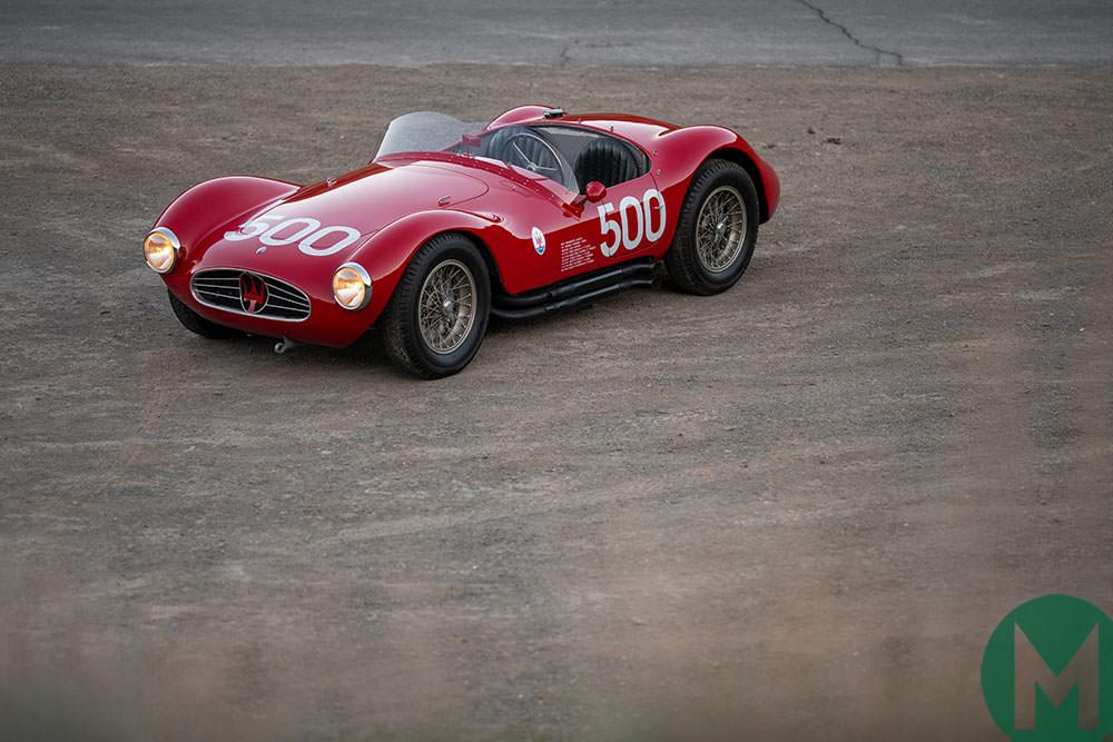 Luigi Musso's Maserati at Monterey