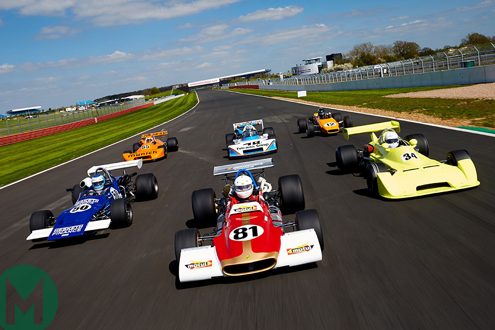 Silverstone Classic set for record-breaking F2 grid