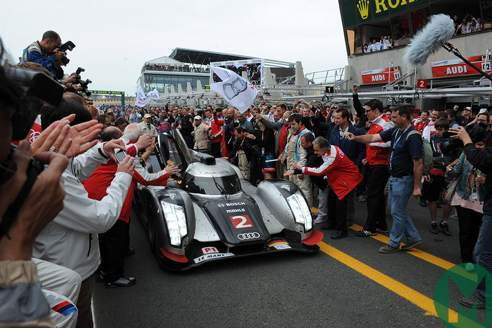 Watch Joest's most dramatic Le Mans win