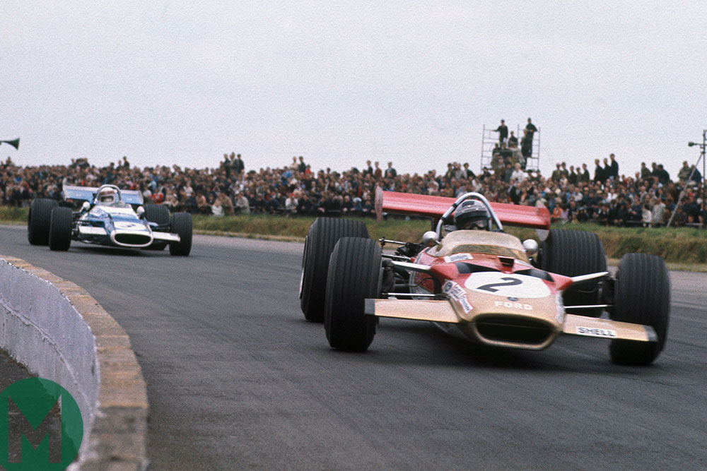 Watch Rindt and Stewart's greatest F1 battle