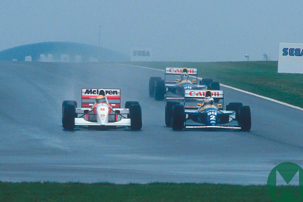 Watch Senna's legendary Donington F1 lap