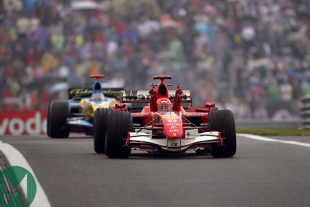 Michael Schumacher's final Formula 1 win