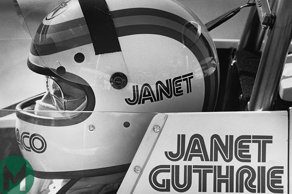Conquering Indy against the odds: the unstoppable Janet Guthrie
