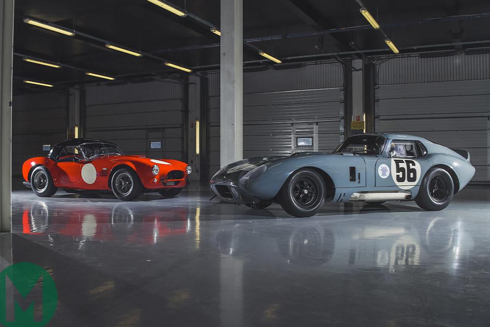 Shelby Daytona Coupe >> Gallery Ac Cobra And Shelby Daytona Coupe Motor Sport