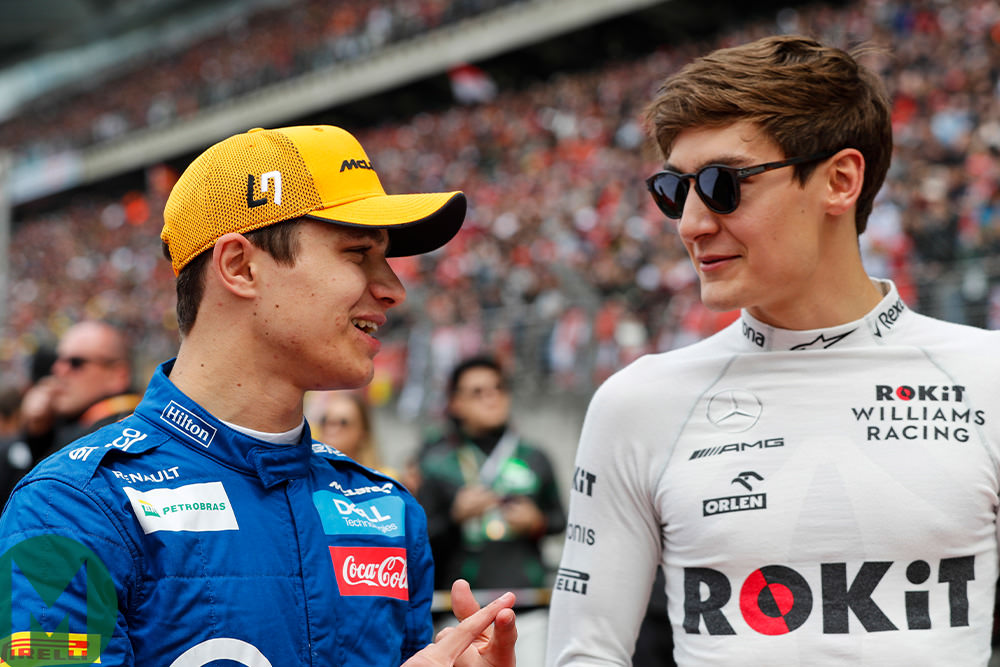 Norris and Russell: the next British F1 hopes