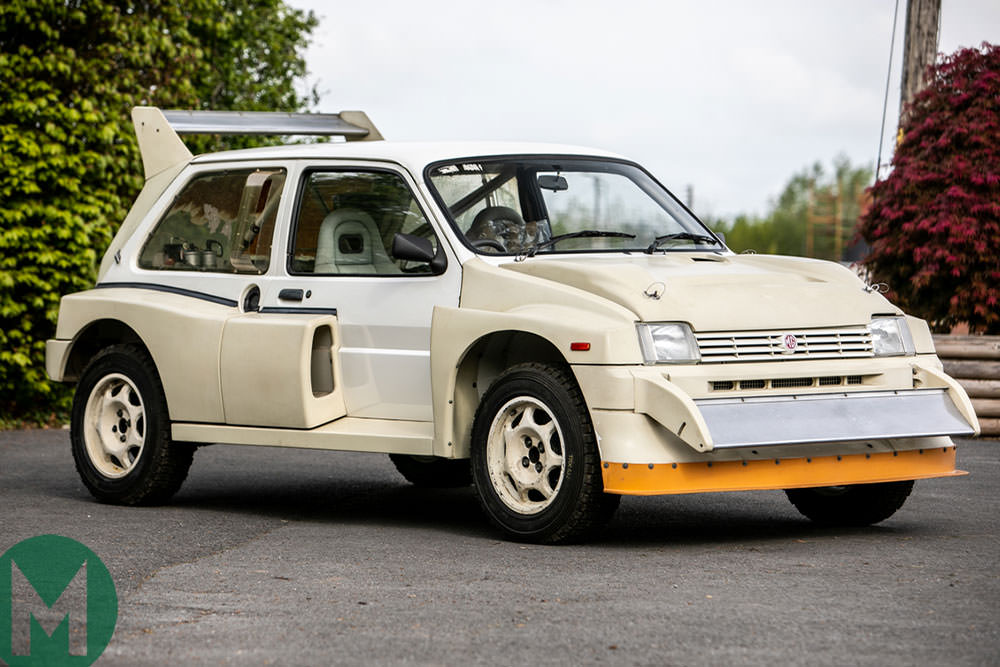 For sale: a brand-new Group B rally car