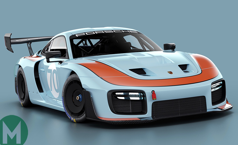 Retro liveries launched for new Porsche 935