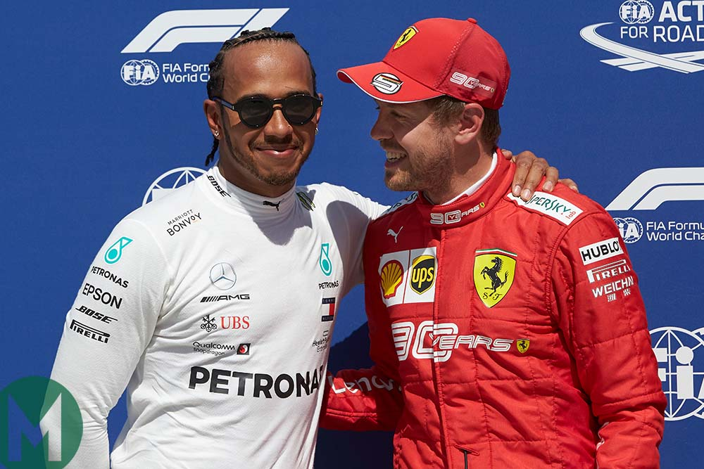 Hamilton and Vettel – best of friends? Why the rivals need each other