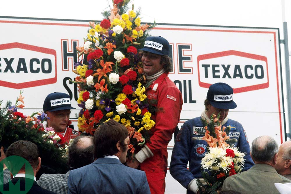 Gunnar Nilsson's Belgian GP victory — the only F1 win from a career cut short