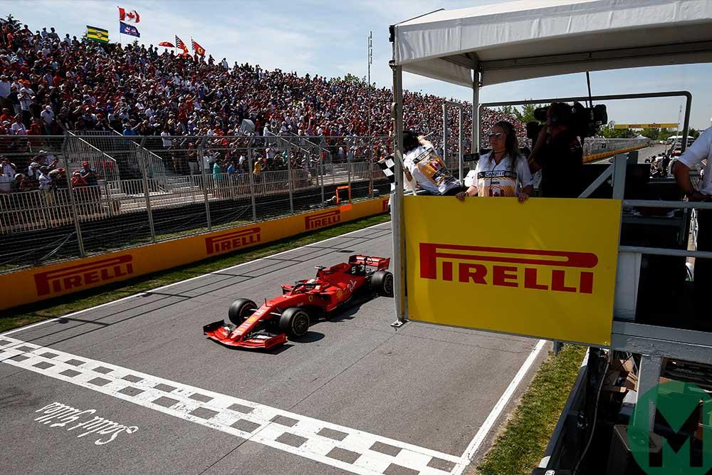 Ferrari bids to overturn Vettel Canadian Grand Prix penalty