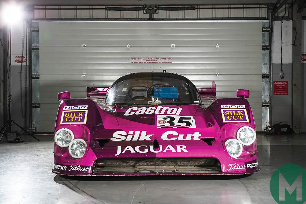 Jaguar XJR-12 back on track: Le Mans Group C legend in detail