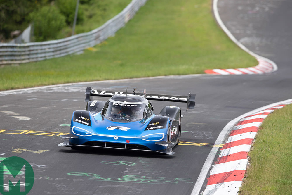 Watch: Volkswagen's electric Nürburgring record