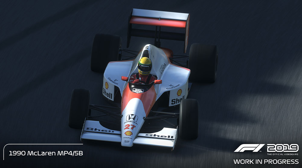 F1 2019 game classic car list