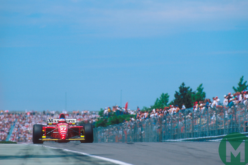 """It's over"": Alesi's drought ends at the 1995 Canadian F1 Grand Prix"