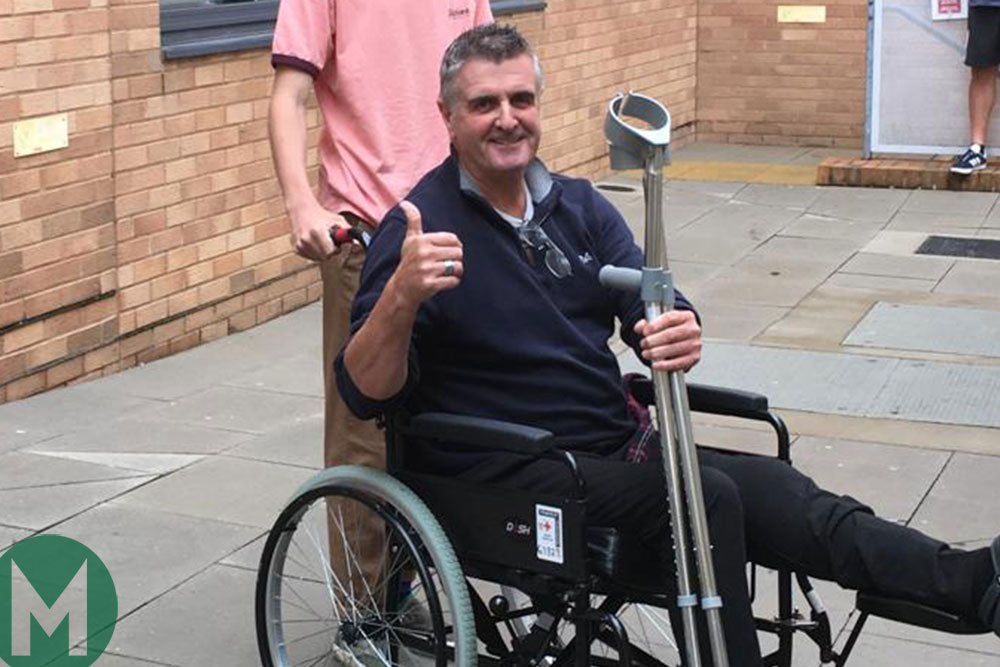 """I will fight it"" – Martin Donnelly determined to make his latest recovery"