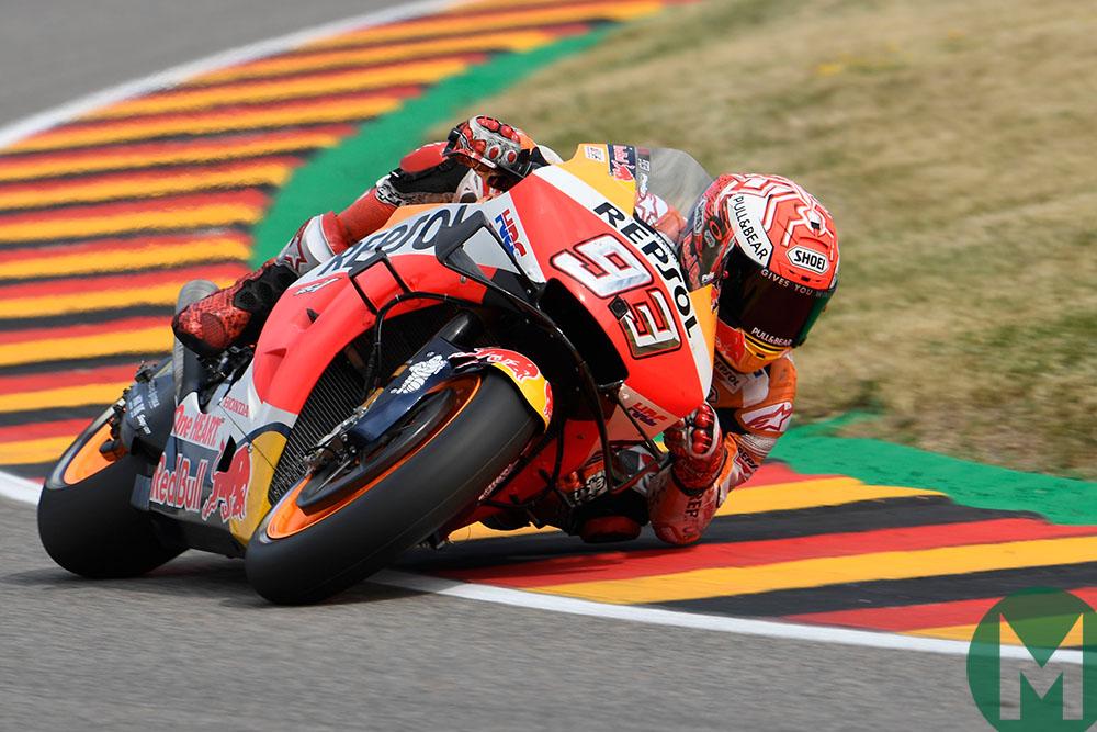 2019 MotoGP German Grand Prix — Márquez's latest record: 66 degrees of lean!