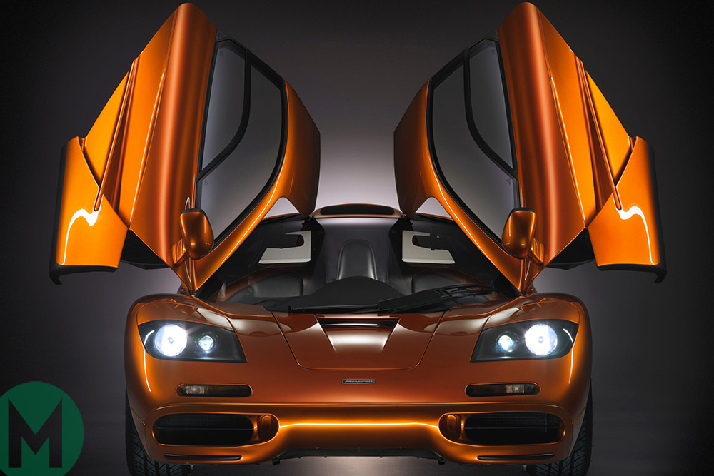 Gordon Murray: I designed the McLaren F1 in my head