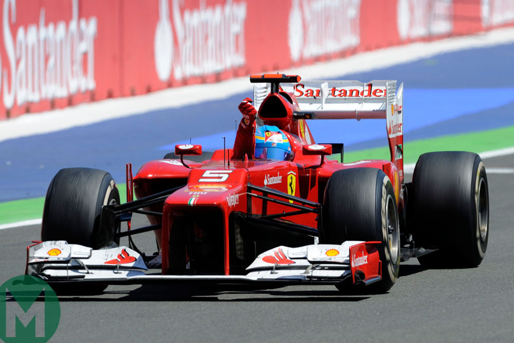 Fernando Alonso's greatest drive – the 2012 European Grand Prix