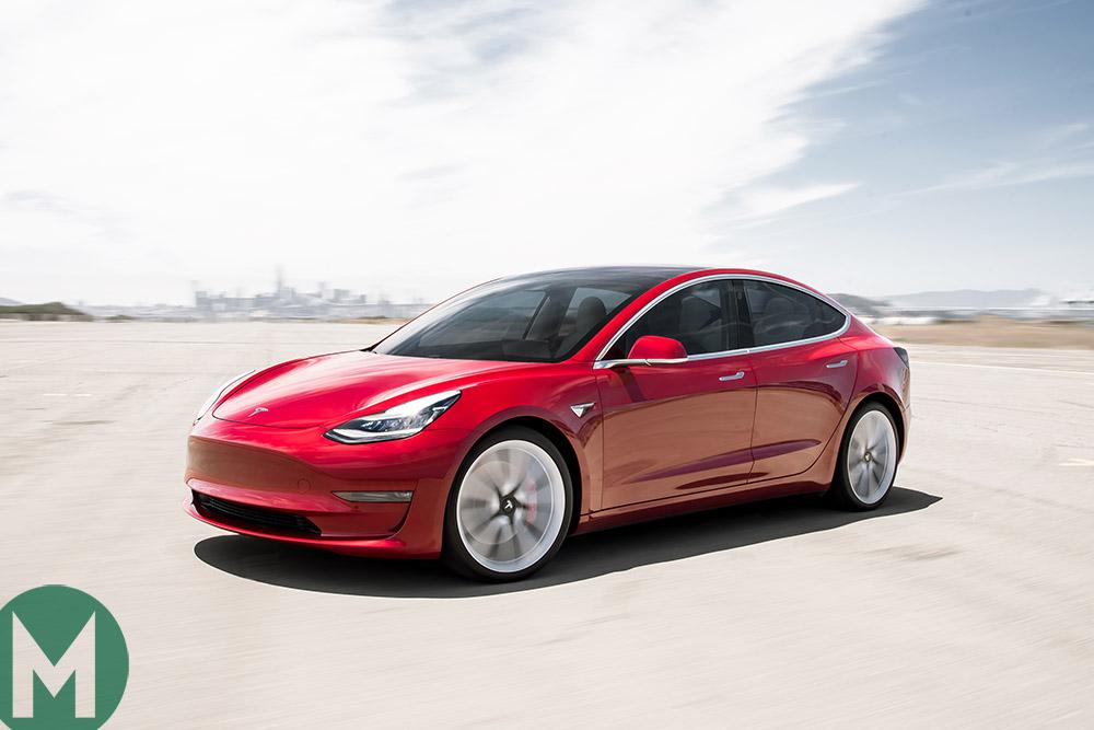 """Borderline violent"" acceleration, but pace isn't the Tesla Model 3's problem"