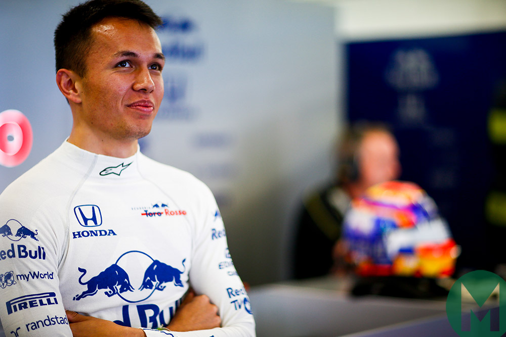 MPH: Alexander Albon's Red Bull promotion is the start of his battle