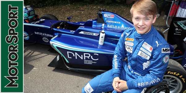 Billy Monger: Royal Automobile Club Talk Show