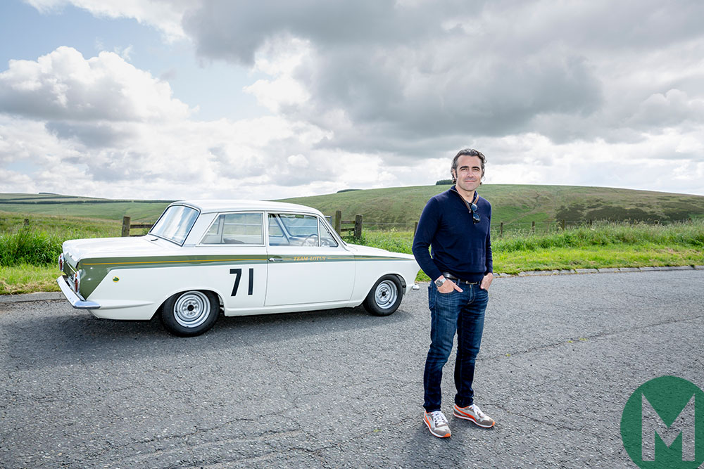 Video: Dario Franchitti delivers Jim Clark's Lotus Cortina to new museum