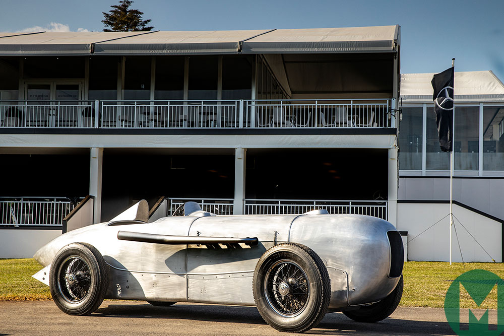 Legendary Mercedes racing cars to appear at Pebble Beach
